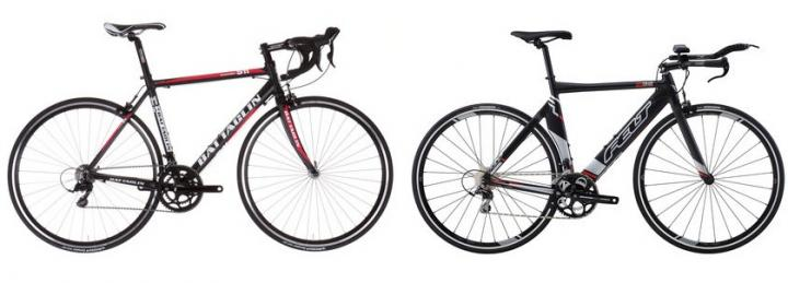 Image of two road bikes